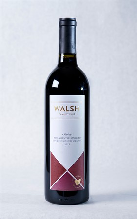 2017 Walsh Family Wine Russ Mountain Merlot